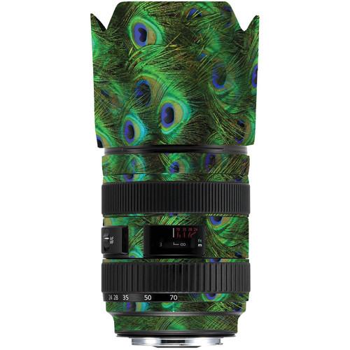 LensSkins Lens Skin for the Series 1 Canon 24-70mm f/2.8L Lens (Peacock Bliss)