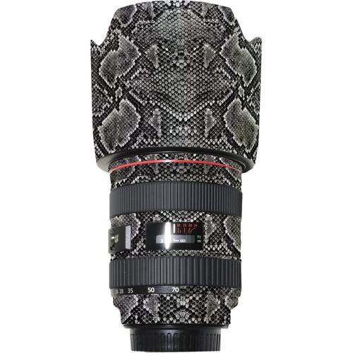 LensSkins Lens Wrap for Canon 24-70mm f/2.8L (Snake Skin)