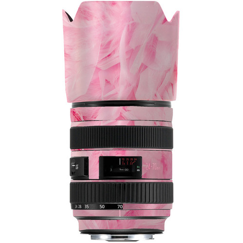 LensSkins Lens Skin for the Series 1 Canon 24-70mm f/2.8L Lens (Tickled Pink)