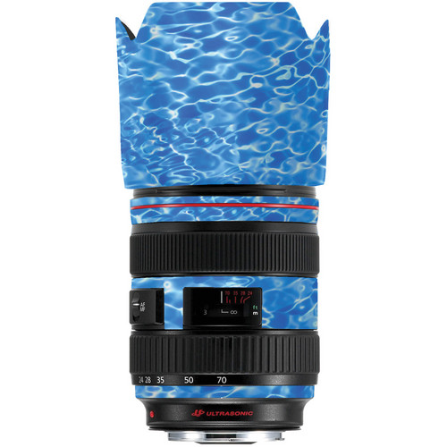 LensSkins Lens Skin for the Series 1 Canon 24-70mm f/2.8L Lens (Underwater)