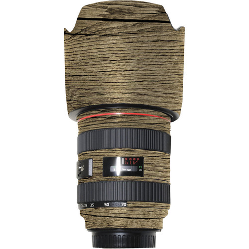 LensSkins Lens Wrap for Canon 24-70mm f/2.8L (Woodie)