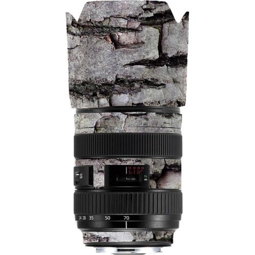 LensSkins Lens Skin for the Series 1 Canon 24-70mm f/2.8L Lens (Winter Woodland)