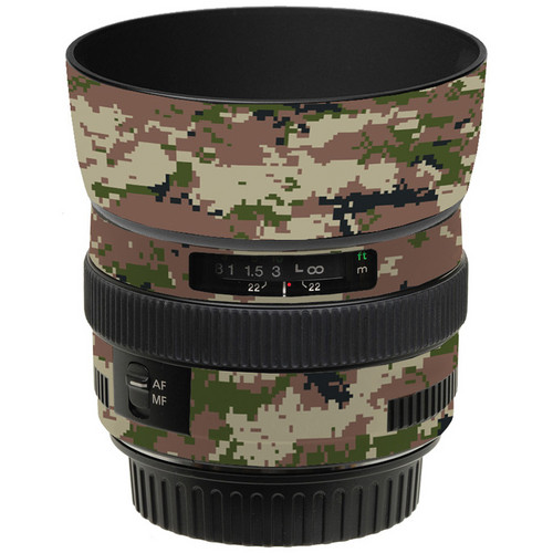 LensSkins Lens Skin for the Canon 50mm f/1.4 USM Lens (Camo)