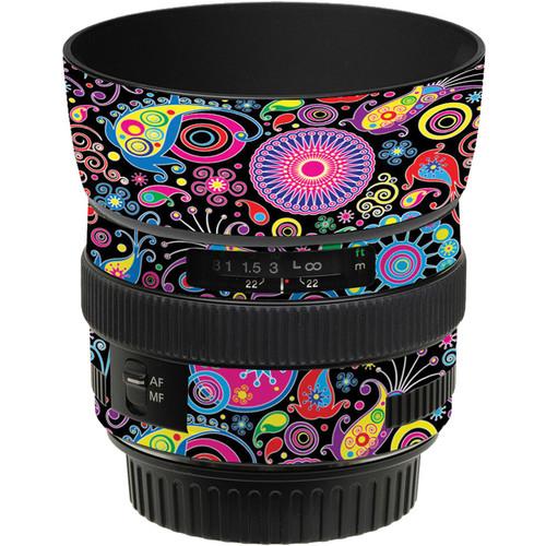LensSkins Lens Skin for the Canon 50mm f/1.4 USM Lens (Carnival Flair)