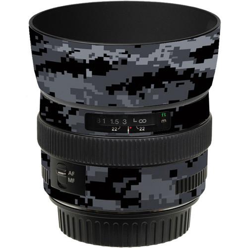 LensSkins Lens Skin for the Canon 50mm f/1.4 USM Lens (Dark Camo)