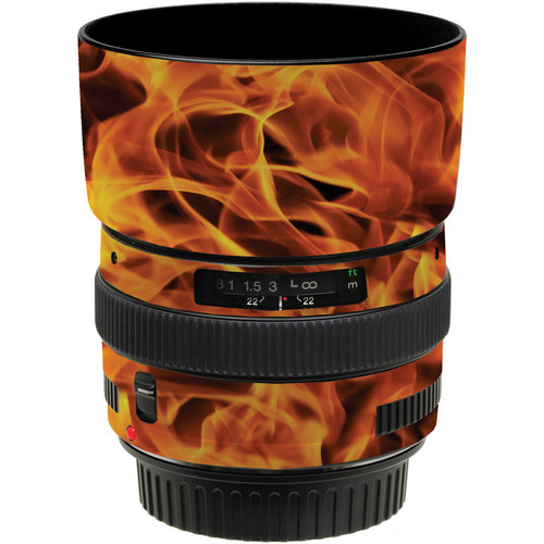 LensSkins Lens Wrap for Canon 50mm f/1.4 (Fire)
