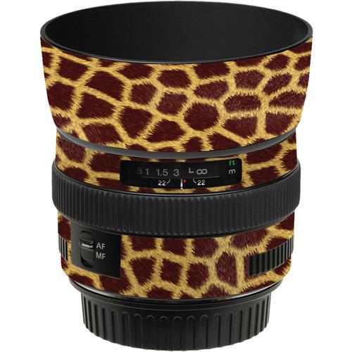 LensSkins Lens Skin for the Canon 50mm f/1.4 USM Lens (Giraffe)