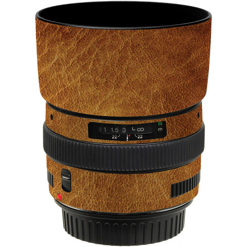 LensSkins Lens Wrap for Canon 50mm f/1.4 (Leathered)