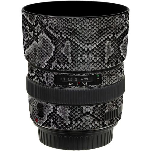 LensSkins Lens Wrap for Canon 50mm f/1.4 (Snake Skin)