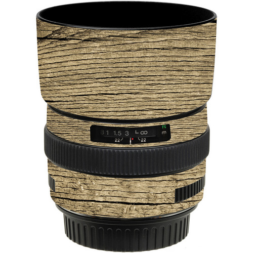 LensSkins Lens Wrap for Canon 50mm f/1.4 (Woodie)