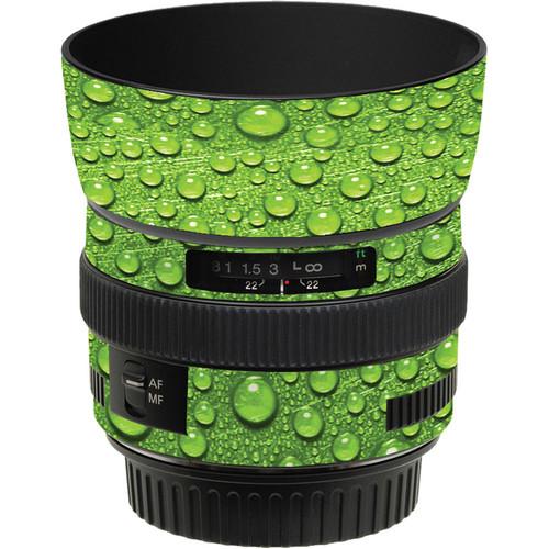 LensSkins Lens Skin for the Canon 50mm f/1.4 USM Lens (Green Water)