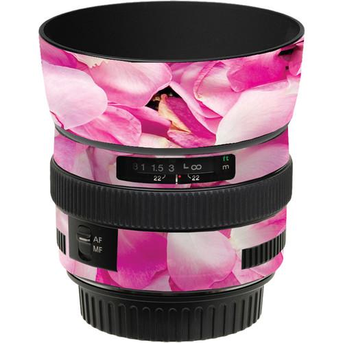 LensSkins Lens Skin for the Canon 50mm f/1.4 USM Lens (Pink Petals)