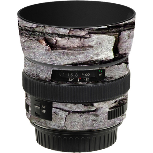 LensSkins Lens Skin for the Canon 50mm f/1.4 USM Lens (Winter Woodland)