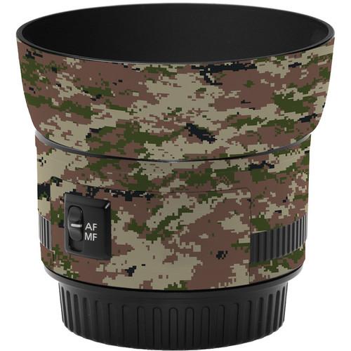 LensSkins Lens Skin for the Canon 50mm f/1.8 II Lens (Camo)