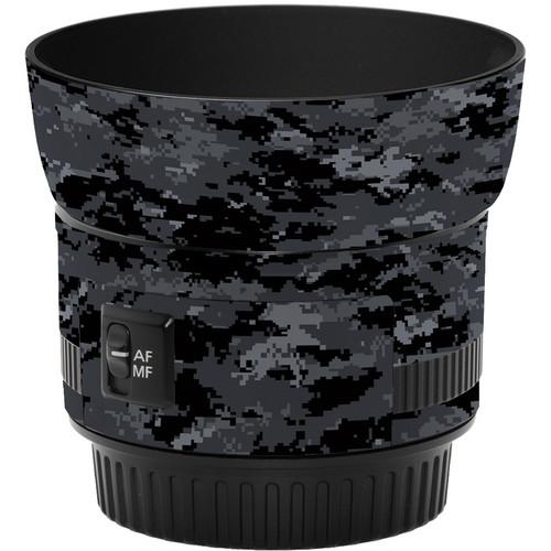 LensSkins Lens Skin for the Canon 50mm f/1.8 II Lens (Dark Camo)