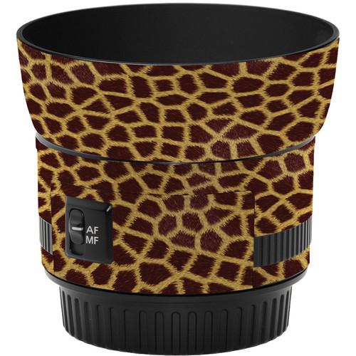 LensSkins Lens Skin for the Canon 50mm f/1.8 II Lens (Giraffe)