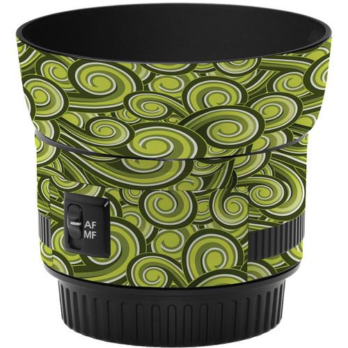LensSkins Lens Skin for the Canon 50mm f/1.8 II Lens (Green Swirl)