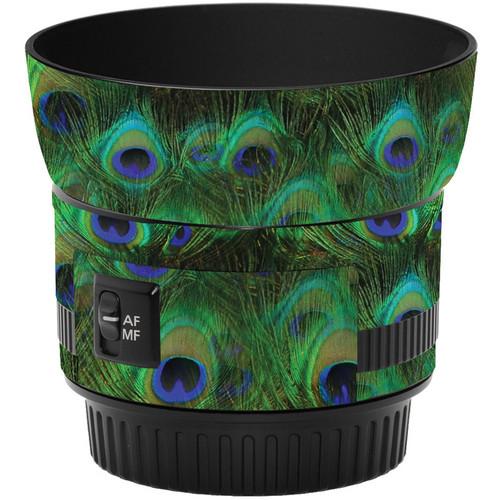LensSkins Lens Skin for the Canon 50mm f/1.8 II Lens (Peacock Bliss)