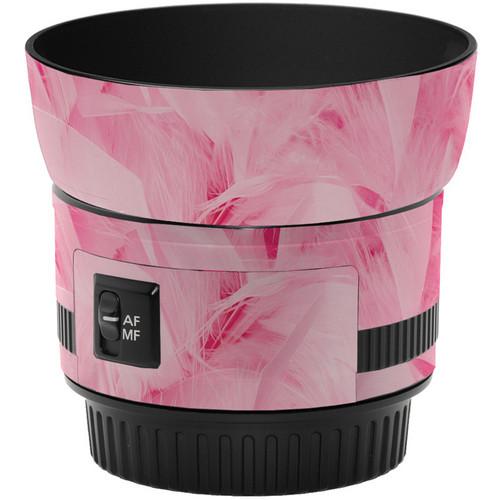 LensSkins Lens Skin for the Canon 50mm f/1.8 II Lens (Tickled Pink)