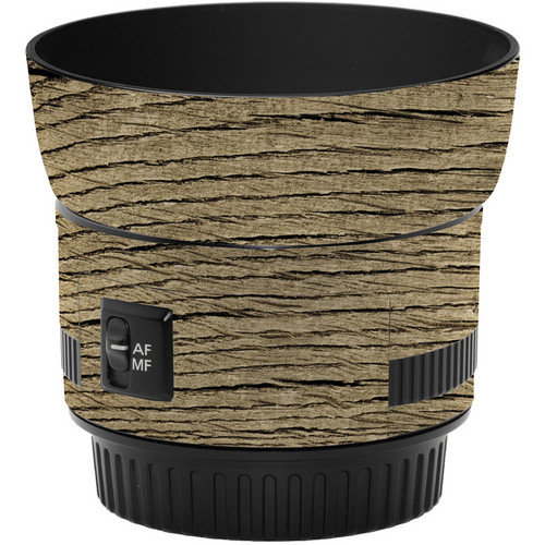 LensSkins Lens Wrap for Canon 50mm f/1.8 II (Woodie)