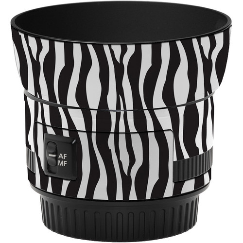 LensSkins Lens Wrap for Canon 50mm f/1.8 II (Zebra (Wild Child))
