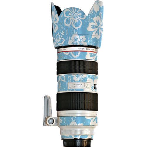 LensSkins Lens Skin for the Canon 70-200mm f/2.8L IS EF USM Lens (Island Photographer)