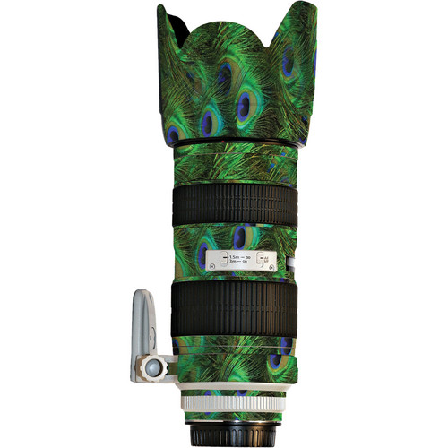 LensSkins Lens Skin for the Canon 70-200mm f/2.8L IS EF USM Lens (Peacock Bliss)