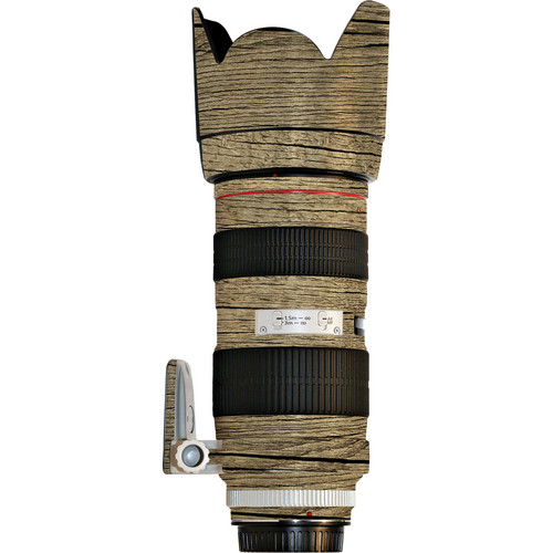 LensSkins Lens Wrap for Canon 70-200mm f/2.8L IS (Woodie)