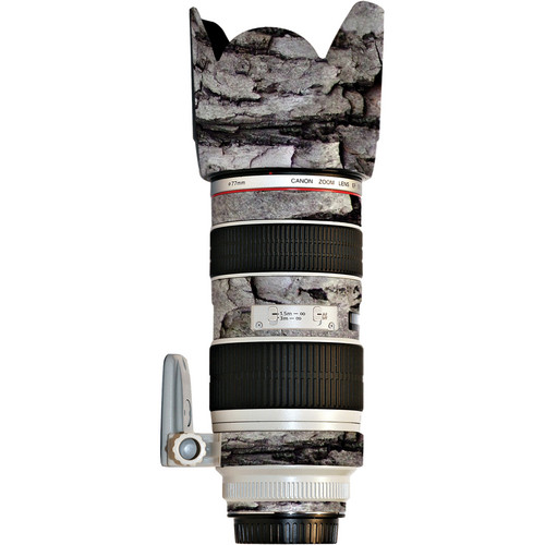 LensSkins Lens Skin for the Canon 70-200mm f/2.8L IS EF USM Lens (Winter Woodland)