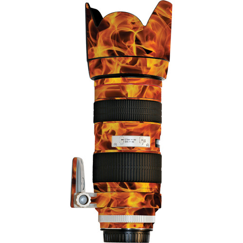 LensSkins Lens Wrap for Canon 70-200mm f/2.8L II (Fire)