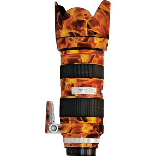 LensSkins Lens Wrap for Canon 70-200mm f/2.8L II (Fire)