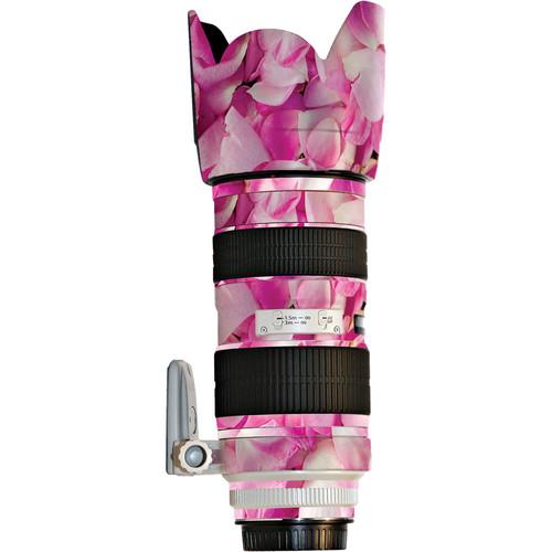 LensSkins Lens Skin for the Canon 70-200mm f/2.8L IS EF USM II Lens (Pink Petals)