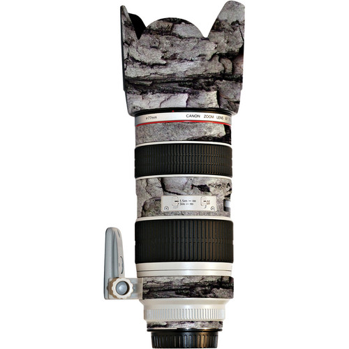 LensSkins Lens Skin for the Canon 70-200mm f/2.8L IS EF USM II Lens (Winter Woodland)