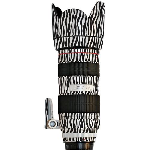 LensSkins Lens Wrap for Canon 70-200mm f/2.8L II (Zebra (Wild Child))