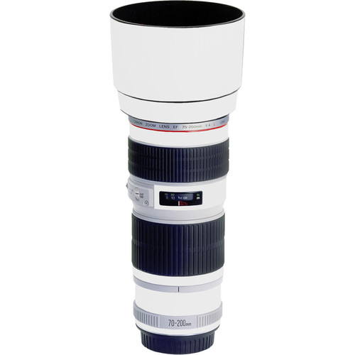 LensSkins Lens Skin for the Canon 70-200mm f/4 Non IS Lens (Flat White)