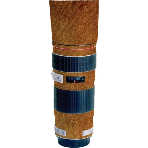 LensSkins Lens Wrap for Canon 70-200mm f/4L (Leathered)