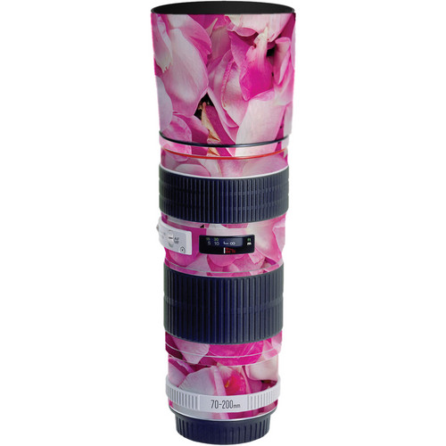LensSkins Lens Skin for the Canon 70-200mm f/4 Non IS Lens (Pink Petals)