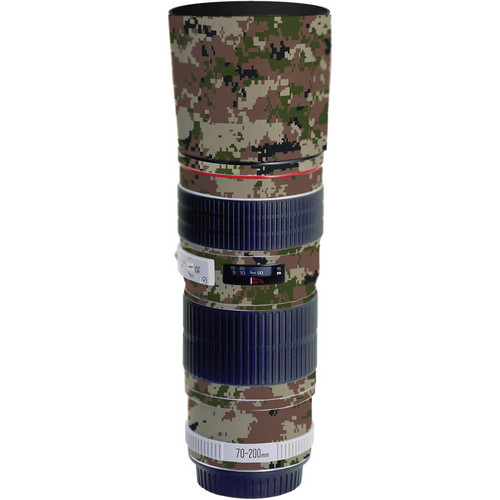 LensSkins Lens Skin for the Canon 70-200mm f/4L EF USM Lens (Camo)