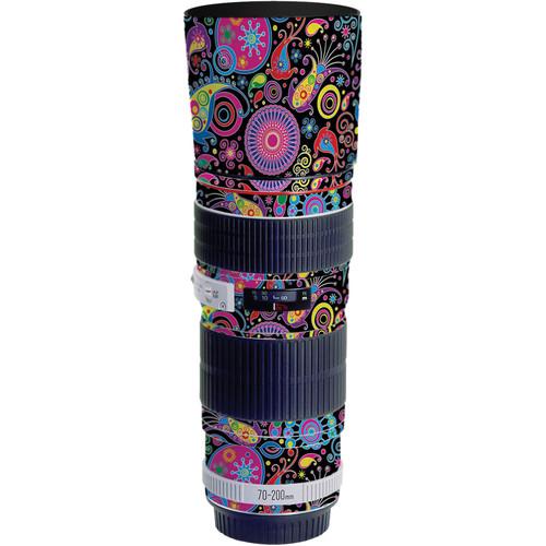 LensSkins Lens Skin for the Canon 70-200 f/4L EF USM Lens (Carnival Flair)