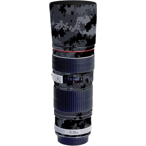LensSkins Lens Skin for the Canon 70-200mm f/4L EF USM Lens (Dark Camo)