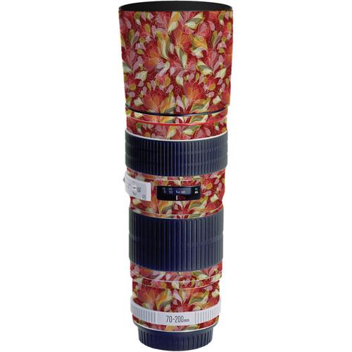LensSkins Lens Skin for the Canon 70-200 f/4L EF USM Lens (French Feather)