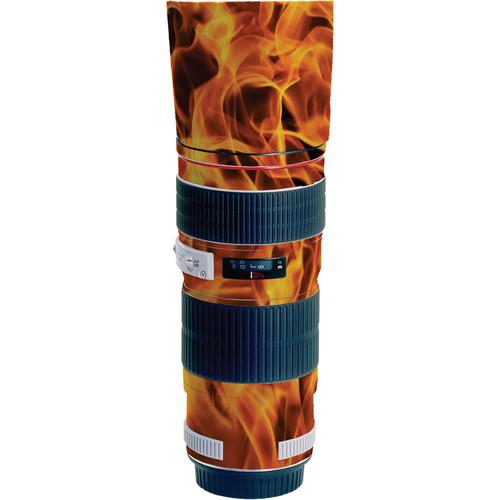 LensSkins Lens Wrap for Canon 70-200mm f/4L IS (Fire)