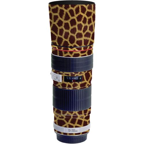 LensSkins Lens Skin for the Canon 70-200mm f/4L EF USM Lens (Giraffe)