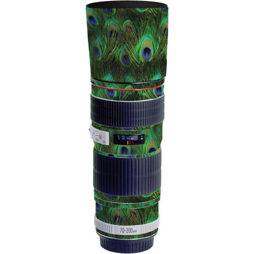LensSkins Lens Skin for the Canon 70-200mm f/4L EF USM Lens (Peacock Bliss)