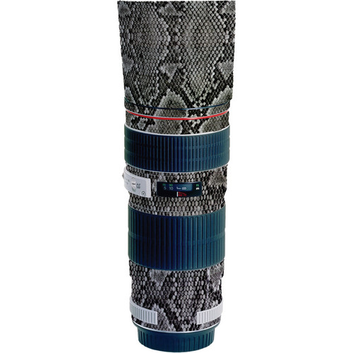 LensSkins Lens Wrap for Canon 70-200mm f/4L IS (Snake Skin)