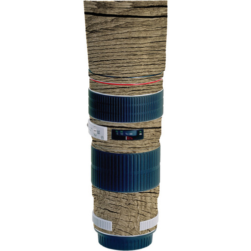 LensSkins Lens Wrap for Canon 70-200mm f/4L IS (Woodie)