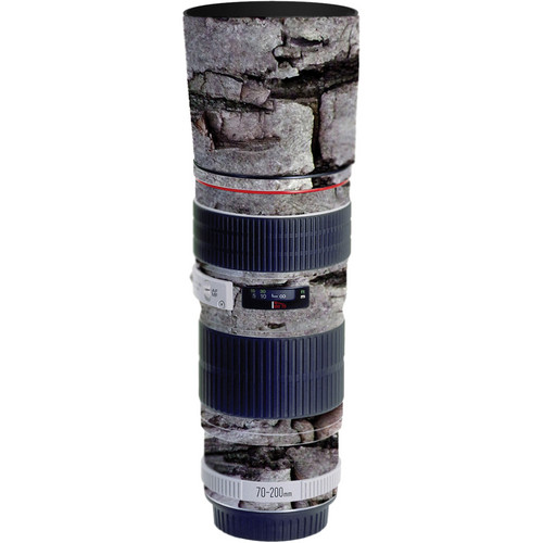 LensSkins Lens Skin for the Canon 70-200mm f/4L EF USM Lens (Winter Woodland)