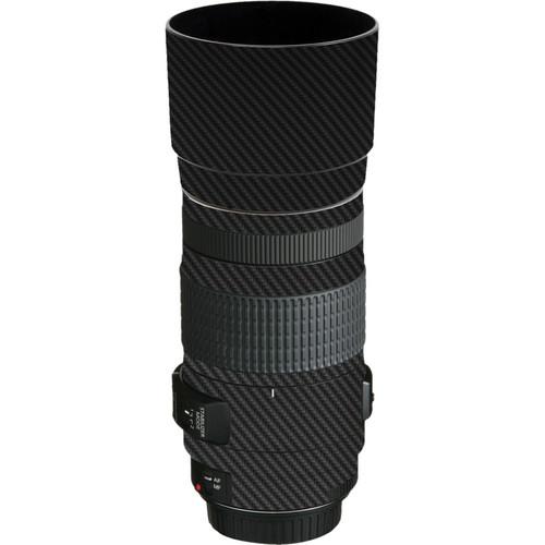 LensSkins Lens Skin for the Canon EF 70-300mm f/4-5.6 IS USM Lens (Black Carbon Fiber)