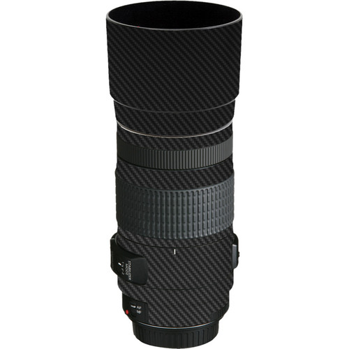 LensSkins Lens Skin for the Canon EF 70-300mm f/4-5.6 IS USM Lens (Black Carbon Fiber)