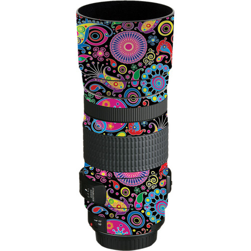 LensSkins Lens Skin for the Canon EF 70-300mm f/4-5.6 IS USM Lens (Carnival Flair)